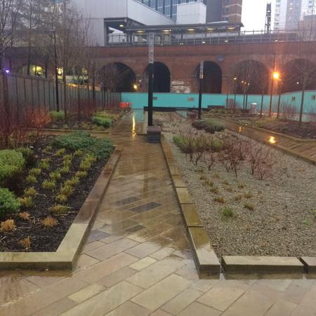 Urban Square Rain Garden Leeds