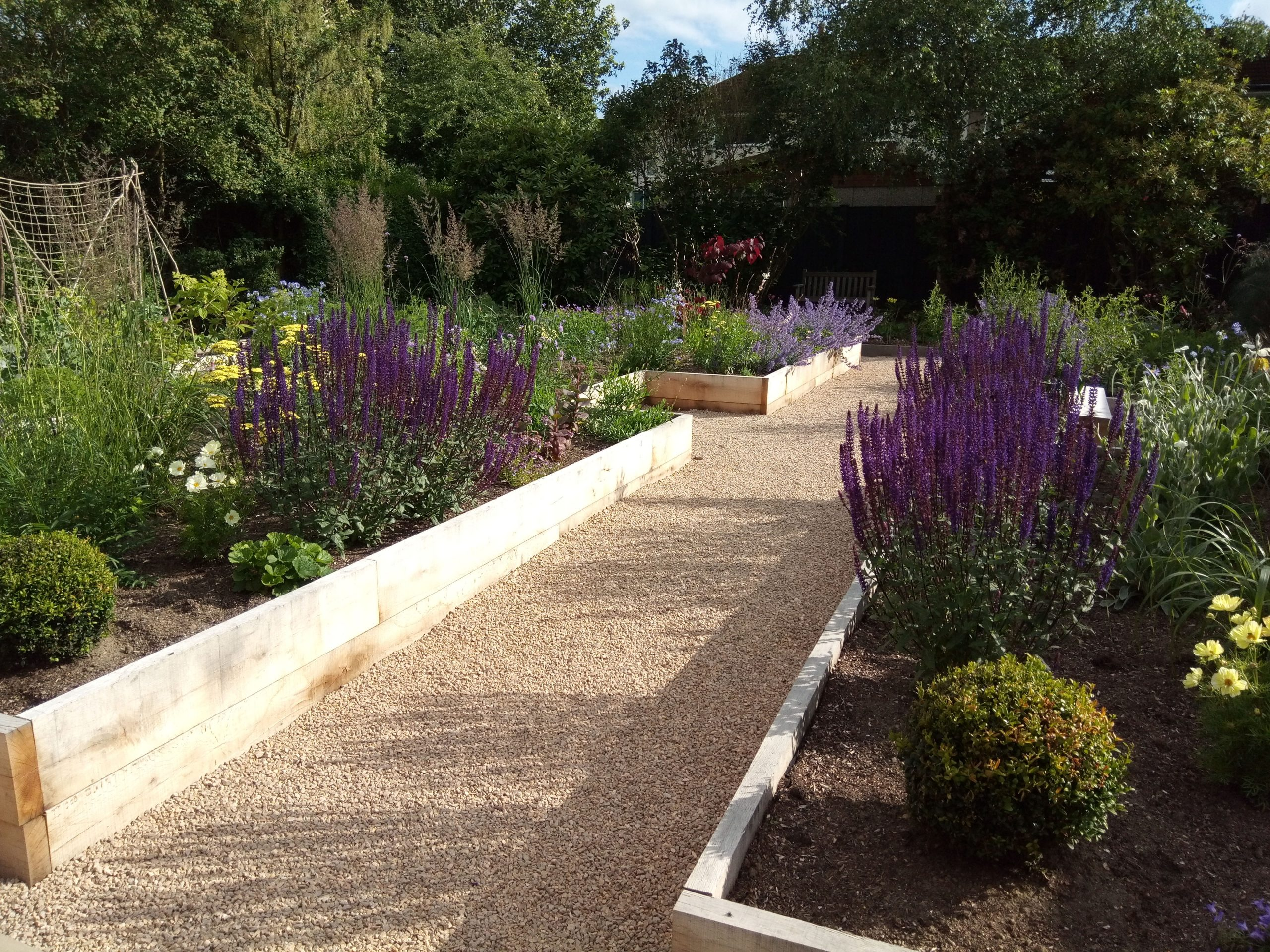 Back Garden Redesign Slow The Flow