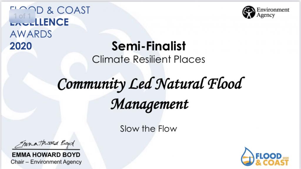 finalists at flood & coastal awards