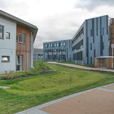 Detention basin York University