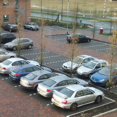 Permeable car park